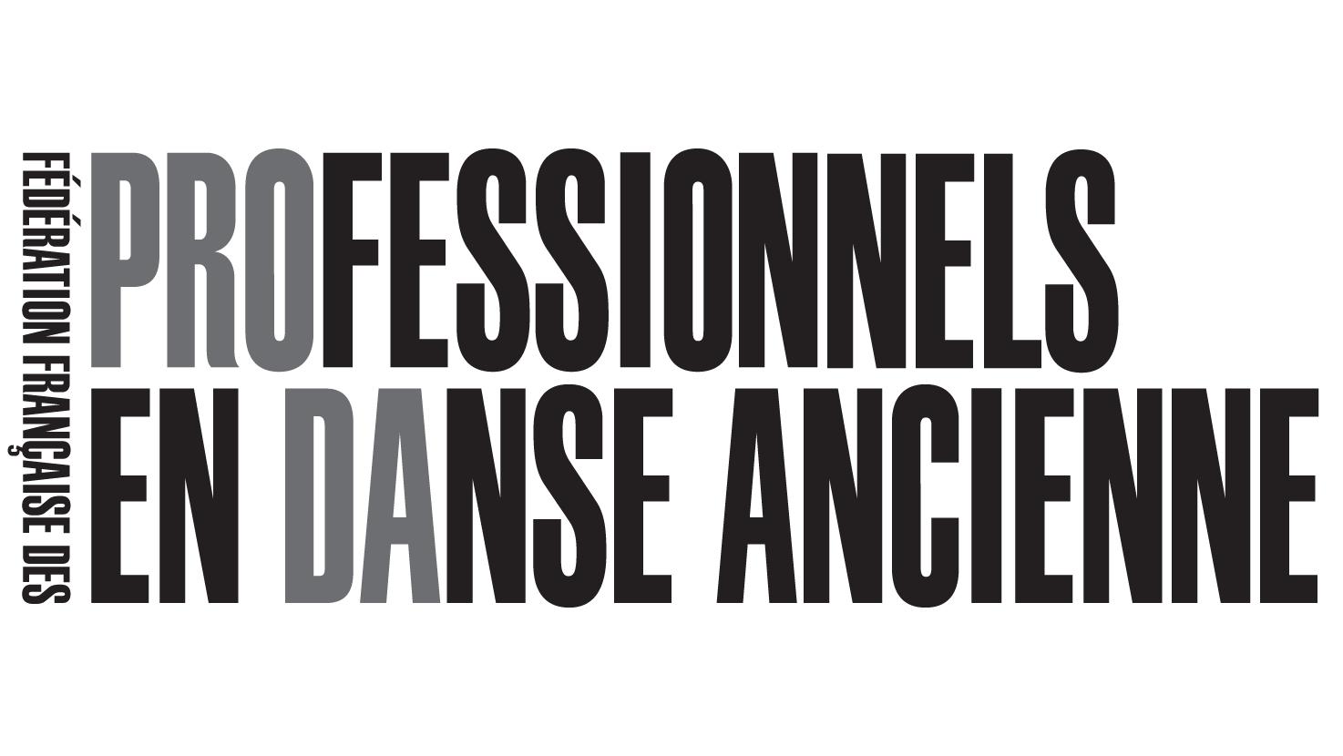 Fédération PRO DA – Fédération française des PROfessionnels en Danse Ancienne