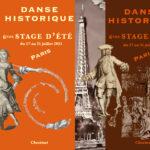 Stages d'été de danse historique 2021, 17 - 21 juillet / Danses à figures anglaises et Danse baroque / par Cécile Laye et Irène Feste