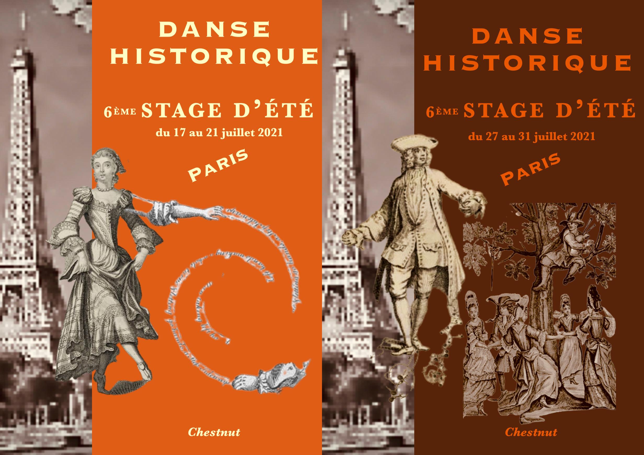 Chestnut Stage d'été de danse historique