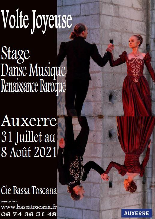 Stage Estival 2021 Volte Joyeuse